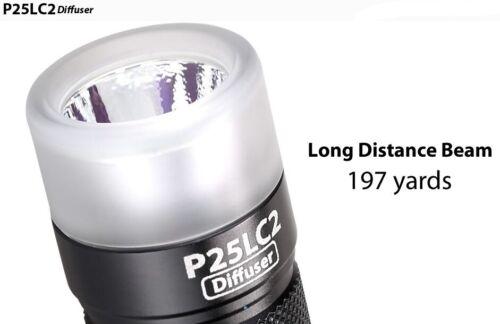 Torcia EagleTac P25LC2 Diffuser CW 1150 lumens 180 metri Torcia a led
