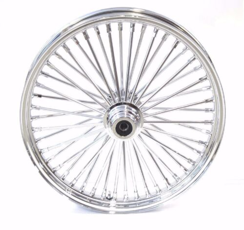 fat spoke 21 front wheel chrome 21 x 2 15 harley softail fxst fxstc  fat spoke 21 front wheel chrome 21 x 2 15 harley softail fxst fxstc night train ebay