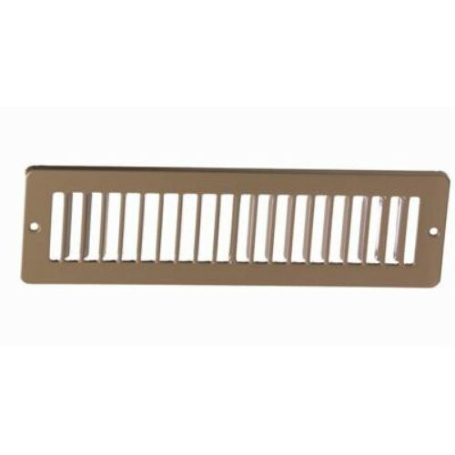 """12/"""" x 2 Toe Space Grille HVAC Vent Cover"""