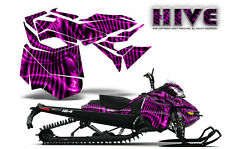 SKI-DOO REV XM SUMMIT SNOWMOBILE SLED CREATORX GRAPHICS KIT WRAP HIVE PINK