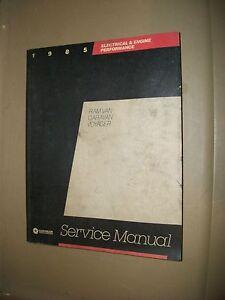 Chrysler-Ram-Van-Caravan-Voyager-Servive-Manual-1985