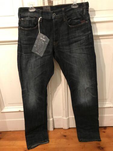 star Bleu Designer Jeans L34 Mens Gr32 W32 Tapered Cool G 34 flessibile Homer Tubo BorCWEdQxe