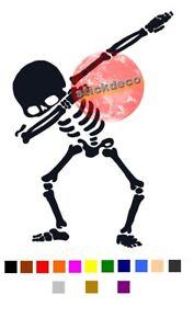 Skull Dab Dabbing Squelette Vw Dub Combi Foot Rap Autocollant Stickers Produits Vente Chaude