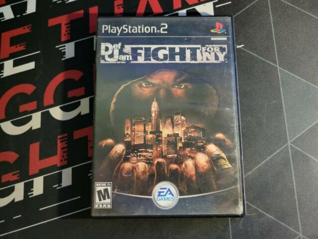 Def Jam: Fight for NY *NOT WORKING AS IS* - Read Description (PlayStation 2 PS2)