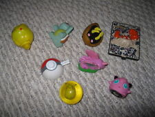 LOT of 10 POKEMON toys pre-owned for collections or for play - FREE SHIPPING
