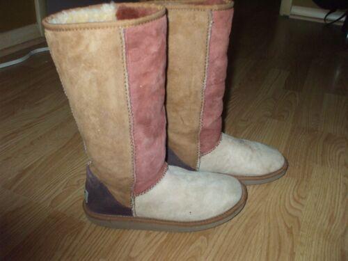 daim clair Rust en brun confortables brun clair de Uggs mouton Bottes Mukluk et et hautes tsBCohQrdx