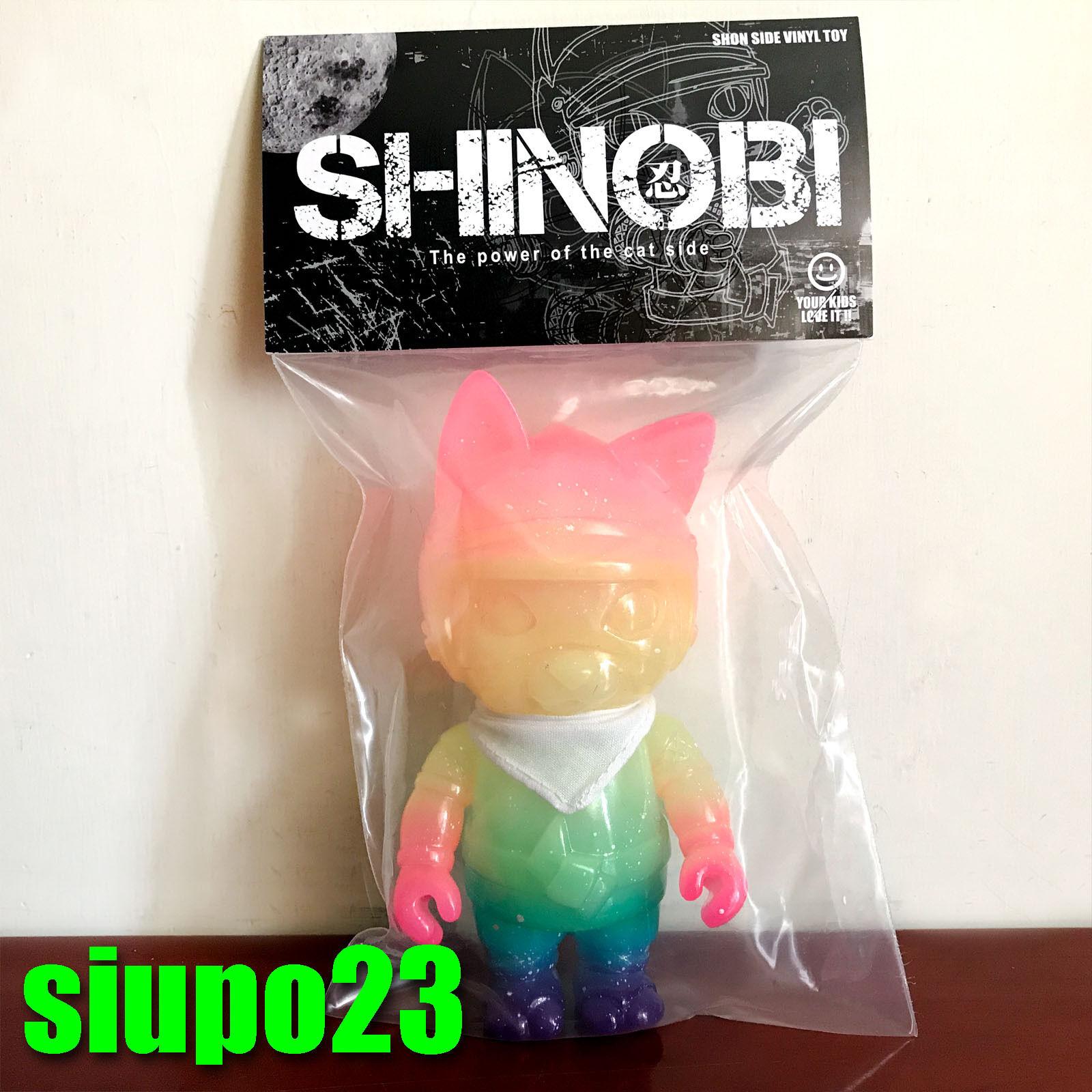 SHON Rainbow Shinobi Vinyl Figure Angel Abby SVF 2017 Version