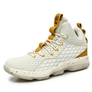 Mens-Basketball-Shoes-High-Top-Training-Shoes-Fashion-Athletic-Sneakers-Big-size