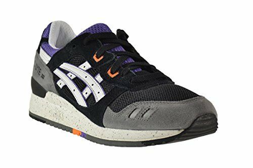 NEW - ASICS GEL-LYTE III 3 Men's  ILLUSION  Black White RUNNING SHOES  10 M  43