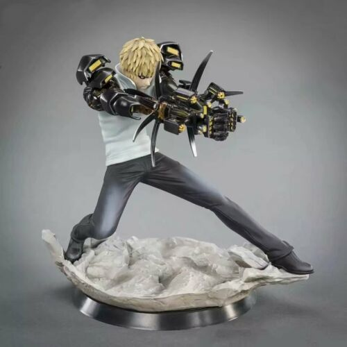 Anime ONE PUNCH MAN GENOS XTRA 1//10 Scale Figure Figurine New Toys No Box