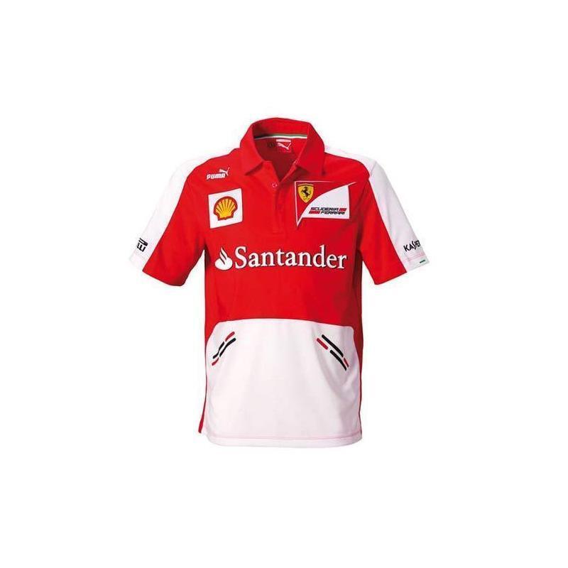 Camiseta hombre Ferrari Team Escudería rojo talla L