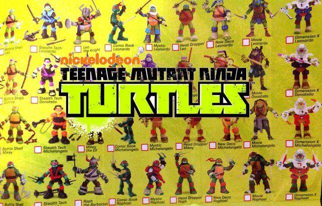 Teenage Mutant Ninja Turtles Action Figures CHOOSE 2015-2017 NEW