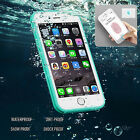 Waterproof  Shockproof Hybrid Rubber TPU Phone Case Cover For iPhone 6 6s 7 Plus