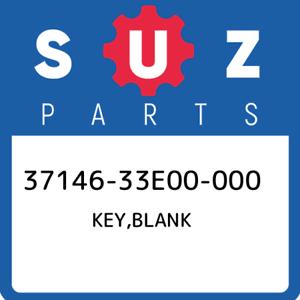 37146-33E00-000-Suzuki-Key-blank-3714633E00000-New-Genuine-OEM-Part