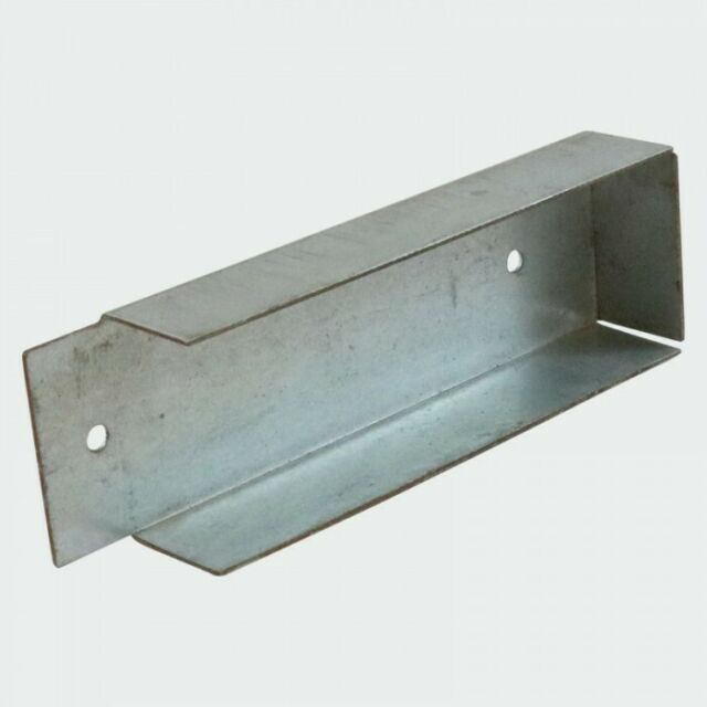 Pack of 10 Gravel Board Brackets For Concrete Gravel Boards 150mm and 230mm