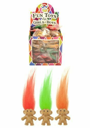 12X Childrens Kids Retro Lucky Trolls Toy Pencil Topper Party Loot Bag Fillers