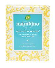 Mambino Organics Summer In Tuscany Organic Soy Candle Brand New