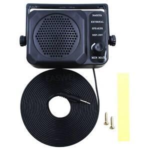 Cb Radio Mini External Speaker Nsp 150v Ham For Hf Vhf Uhf Hf Transceiver C G6v9 Ebay