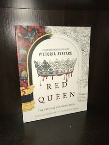 Red Queen The Official Coloring Book By Victoria Aveyard 2016