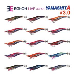 -N14//TTI Warm Jacket Squid Jig Yamashita EGI OH Q LIVE #3.0 Basic 490 GLOW