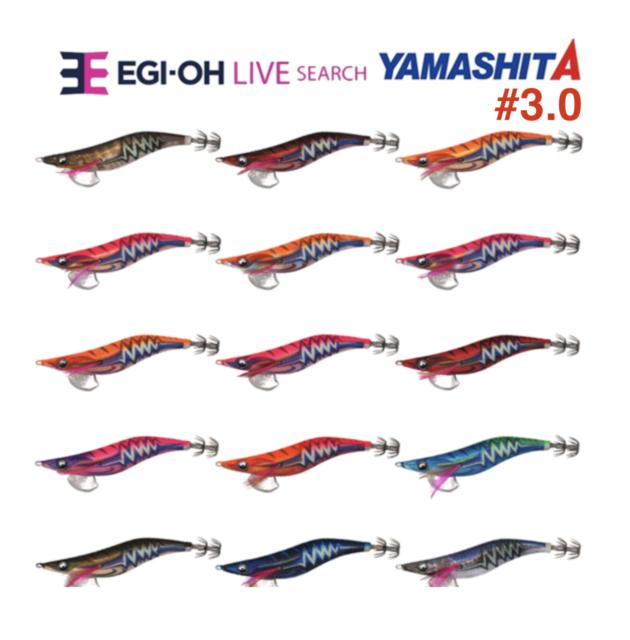 Yamashita EGI OH Q LIVE #3.0 Basic Warm Jacket Squid Jig R06//ROF Glow