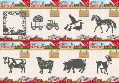 Yvonne Creations Cutting Dies FREE UK P/&P Country Life Collection