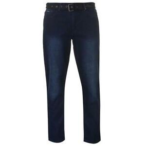 Pierre-Cardin-Web-Guertel-Herren-Jeans-dunkelblau-denim-Groesse-Large-ref39