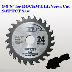 3 38 inch carbide circular saw blade for rockwell versacut rk3440k image is loading 3 3 8 inch carbide circular saw blade greentooth Images