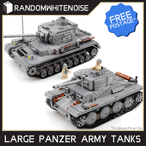 Army-Tank-Vehicles-1711-Panzer-USA-German-Building-Block-Toy-Compatible-Jeep-Kid