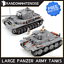 Army-Tank-Vehicles-1711-Panzer-USA-German-Building-Block-Toy-Compatible-Jeep-Kid thumbnail 1