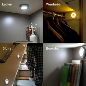 Image Is Loading Motion Sensor Light Cordless Battery Ed Led Night