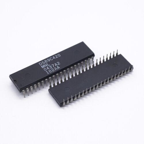 Maxim DS89C420-MNL 8-Bit Ultra High Speed MCU PDIP40