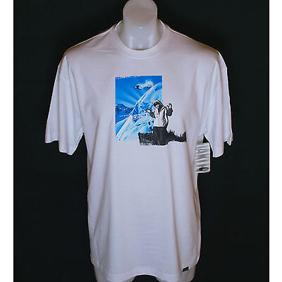 Bnwt Authentic Mens Oakley Hall ss Tee T Shirt Medium New Ski Snowboarding White