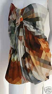 Mini  Vestido BASSO BROOKE Jersey Top & Nuevo 40 6  connotación de lujo discreta
