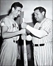 Babe Ruth Ted Williams Photo 8X10 1959 Fleer Card  Buy Any 2 Get 1 FREE