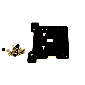Zebra-VESA-Arm-Mounting-Plate-Black-for-Raspberry-Pi-4B-3B-3-Pi2-Arduino