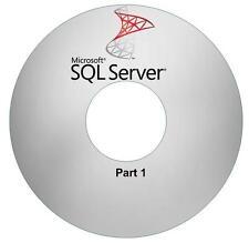 SQL Server (3 DVDs) MS SQL SQL Server Video Training Tutorial SQL 2008