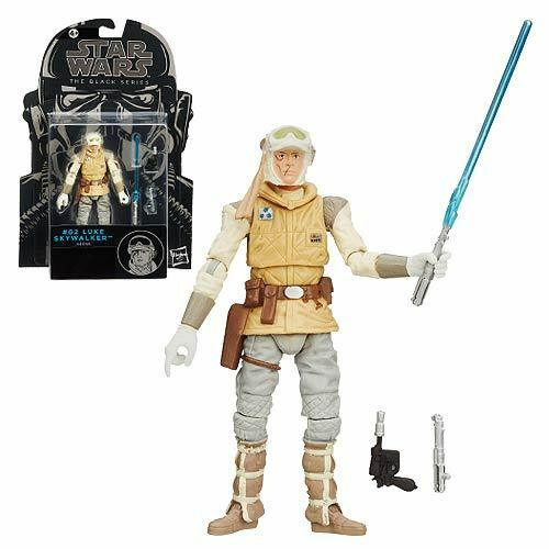 "Star Wars 3.75/"" Black Series Luke Skywalker Hoth Empire Strikes Back #02 Mint!"