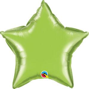GREEN-STAR-BALLOON-20-034-STAR-SHAPED-LIME-GREEN-QUALATEX-PARTY-SUPPLIES-BALLOON