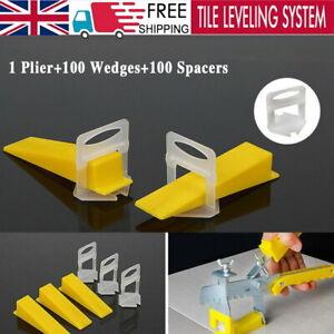 201pcs Large Tile Leveling Spacer System Tool Wedges Pliers Tiling Kit Uk Ebay
