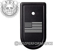 for Springfield Armory XDS 9mm 45ACP Magazine Mag Plate BK US Flag