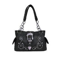 Women's Concealed Handgun Purse Handbag Black -