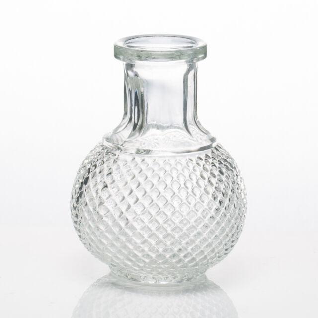 Richland Glass Bud Vase Round Perfume Bottle Set Of 36 Wedding Decor