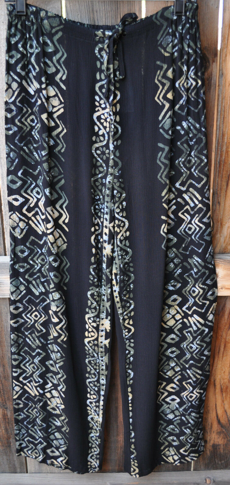 ART TO WEAR 4 PANT IN GORGEOUS NEW HATARI BY MISSION CANYON,OS+,