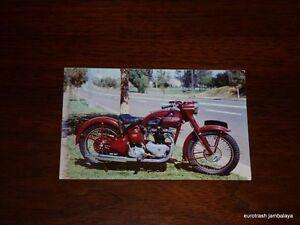 Vintage Triumph Postcard 5T 500 Speed Twin Johnson Motors nos pre unit
