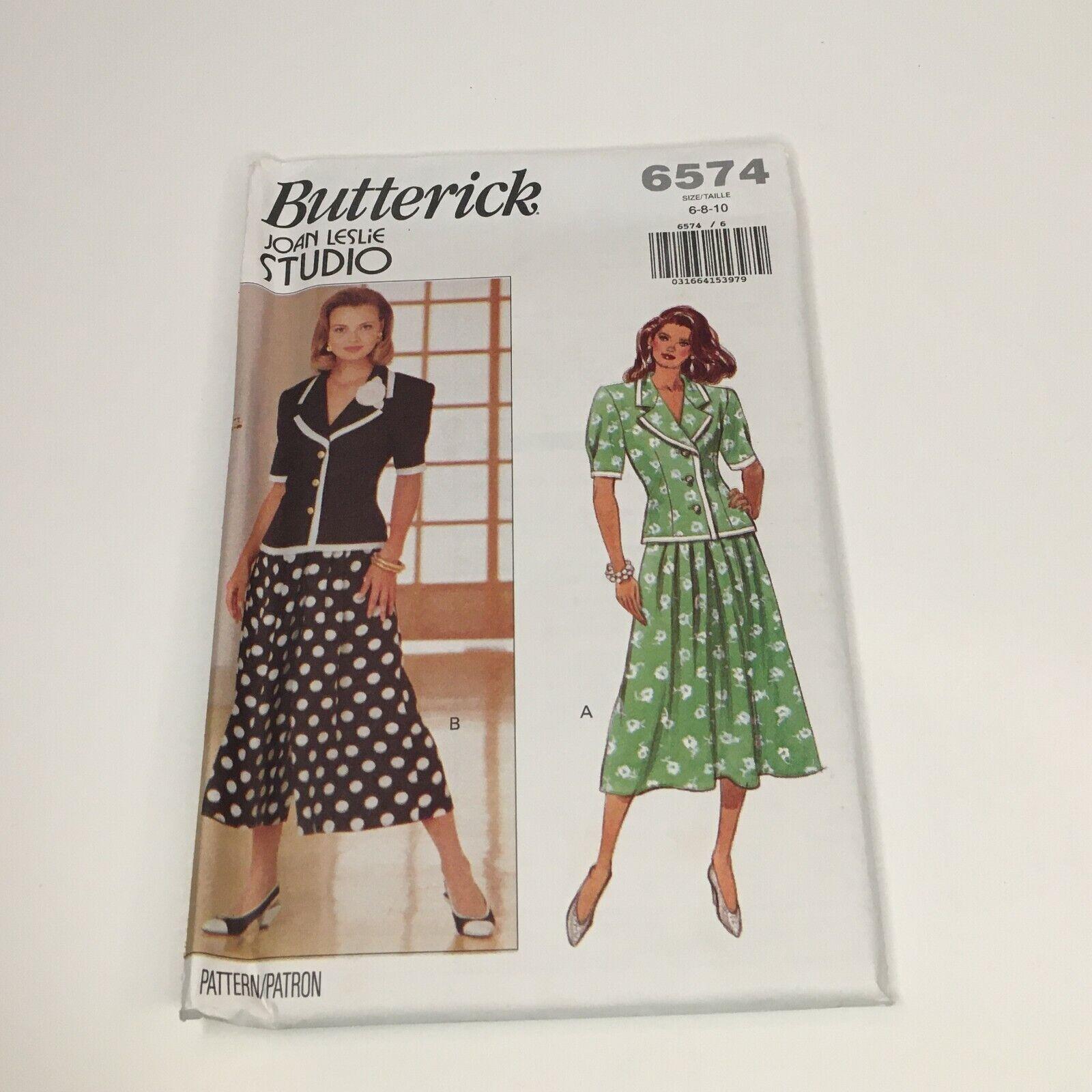UNCUT Vintage Butterick Sewing Pattern Misses Vest 4683 OOP FF EASY Waistcoat