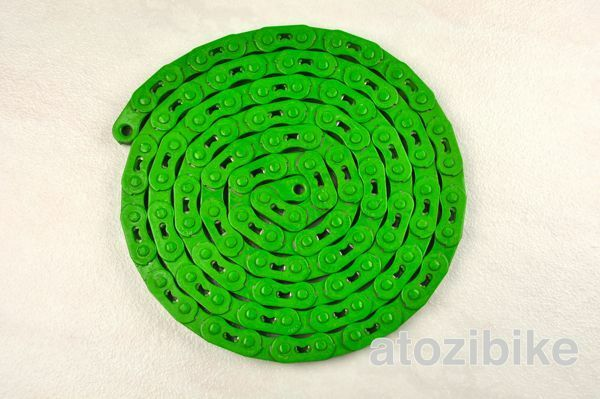 NEW YBN Single Speed Bicycle Bike Chain MK747 Fixie Track BMX MTB Cycling Green