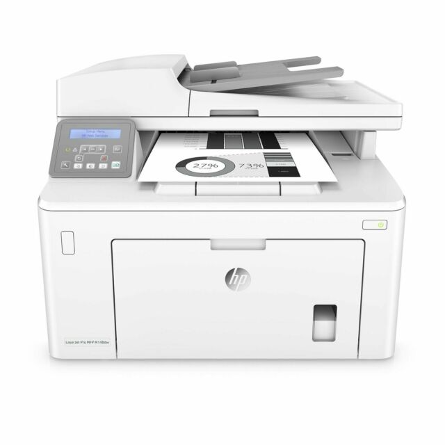 HP LaserJet Pro MFP M148DW Wireless Black-and-White All-In-One Printer Of...
