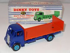 dinky GUY FLAT TRUCK WITH TAILBOARD  - 913