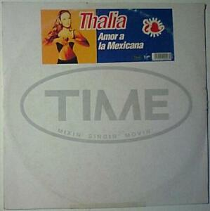 Details about THALIA AMOR A LA MEXICANA REMIX LP SINGLE PROMO VG+ VERY RARE  ITALIAN PRESSING